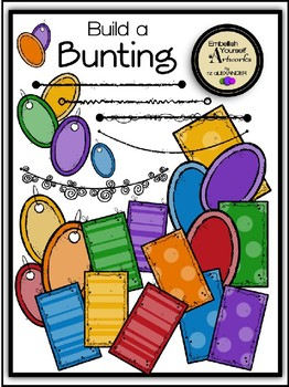 Build A Bunting #1 Clipart