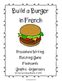 Build A Burger: Procedural Writing Word Wall French