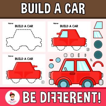 Build A Car >> Build A Car Clipart
