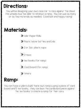 Build A Car STEM