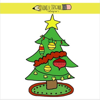 Build A Christmas Tree Clip Art