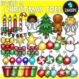 Build A Christmas Tree Clip Art Bundle {Educlips Clipart}