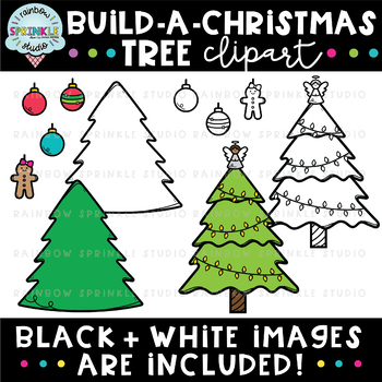 Build-A-Christmas Tree {christmas clipart}