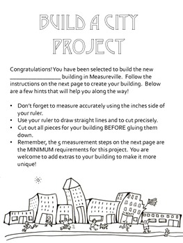 Build-A-City: Area and Perimeter Project