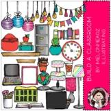 Build-A-Classroom clip art - Bright - by Melonheadz Clipart