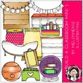 Build A Classroom clip art - BRIGHT - Mini - by Melonheadz Clipart