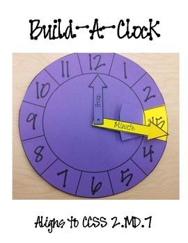Build-A-Clock (2.MD.7)
