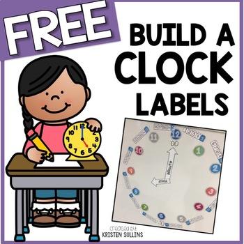 Build-A-Clock Labels
