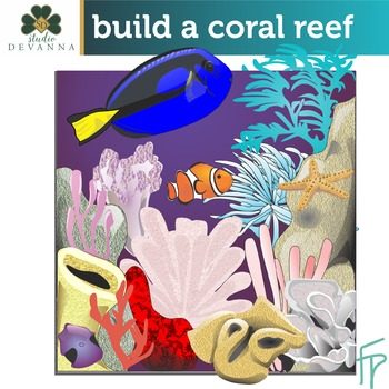 Build A Coral Reef Clip Art