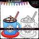 Build A Cup of Cocoa - Clip Art & B&W Set
