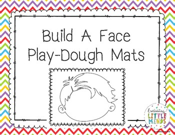 Build A Face Play-Dough Mats