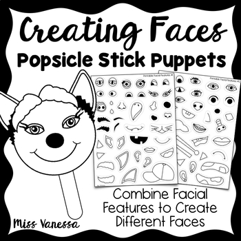 Build-A-Face Creative Writing Activity & Character Prompt