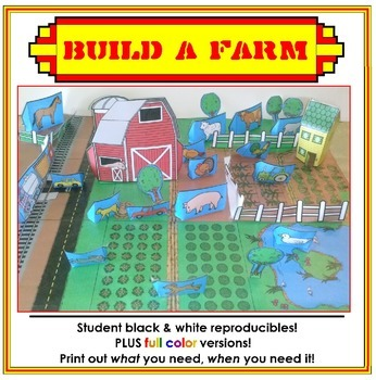 Build A Farm - Hands-on Map Making Activity