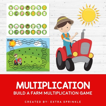 Build A Farm Multiplication Game