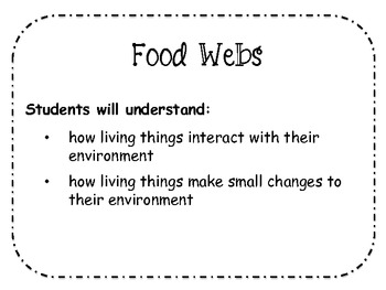 Build A Food Web