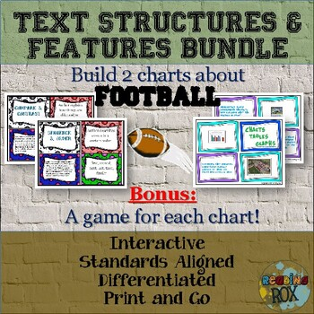 Build A Football Chart- Text Structures and Text Features