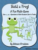 Build A Frog Fun Math Game