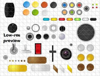 Build-A-Gadget Clip Art Pack
