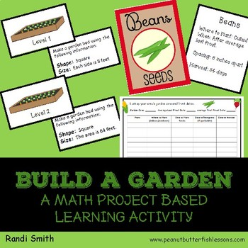Build A Garden: A Math Project Based Learning Activity
