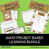 Build A Garden and Veggies For Sale Math Activities and Game Bundle