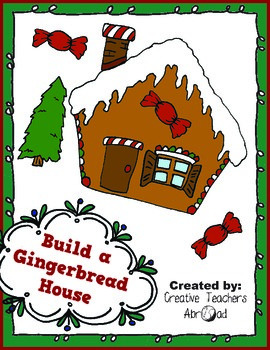 Build A Gingerbread House Activity