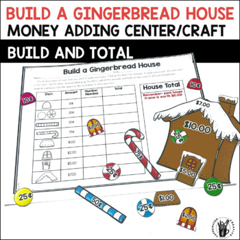 Build A Gingerbread House Math Center