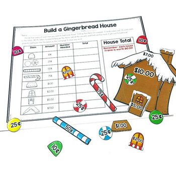 Build A Gingerbread House Center