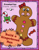 Build A Gingerbread Man Activity