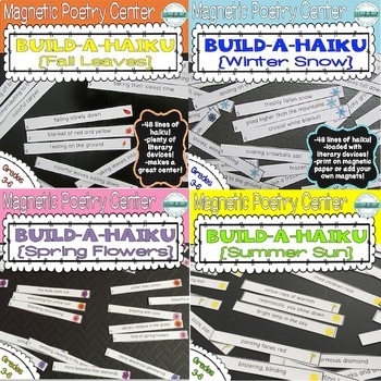 Build-A-Haiku Bundle {Four Seasons + Bonus!}