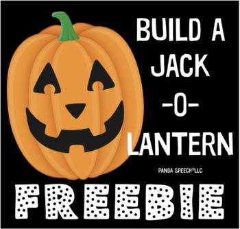 Build-A-Jack -O- Lantern FREEBIE