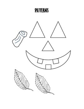 Build A Jack O'Lantern Speech Therapy Game