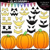 Build A Jack-o-lantern Clip Art - Halloween Clip Art
