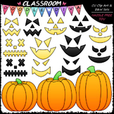 Build A Jack-o-lantern Clip Art - Halloween Clip Art