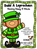 Build A Leprechaun ~ Reading Bossy R Word Game ~ BONUS Oh no! Game