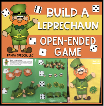 Build-A-Leprechaun Speech Therapy Game: An Open Ended Game