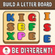 Build A Letter Board Clipart