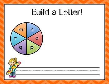 Build A Letter! Build and Write Letter Mats