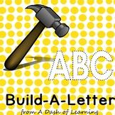 Build-A-Letter: Letter Construction Activity for Preschool and Kindergarten