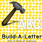 Build-A-Letter: Letter Construction Activity for Preschool