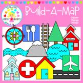 Build-A-Map Clipart