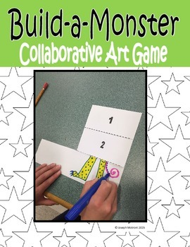 Build-A-Monster Art Game