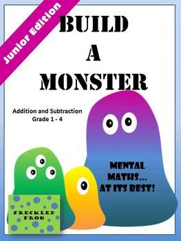 Build A Monster - Junior Edition