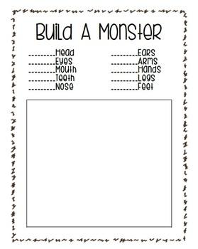 Build A Monster Math