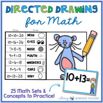 Directed Drawing for Math (700 Math Task Cards!)