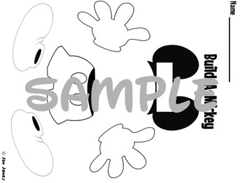 Build-A-Mouse Addition to 10 (Black and White Edition)