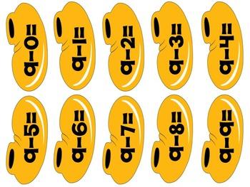 Build-A-Mouse Subtraction to 10 (Color Edition)
