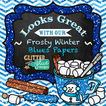 Hot Chocolate & Candy Clip Art {Winter Graphics of Food for Digital Resources} 1