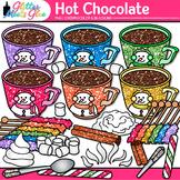 Hot Chocolate & Candy Clip Art: Winter Graphics {Glitter Meets Glue}