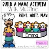 Build A Name Activity With Muffins