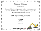 Build A Number Place Value Math Game CCSS: 4.NBT.A.2